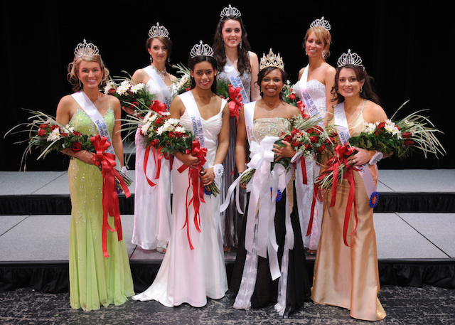 2008 Queen Pageant Court