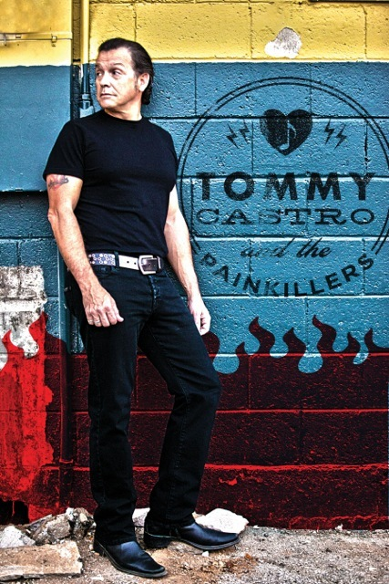 Tommy Castro Solo Press Shot & Logo