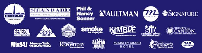 2016 Canton Blues Fest Sponsors