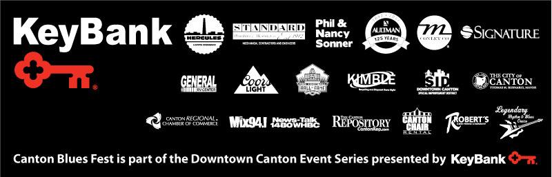 2017 Canton Blues Fest Sponsors