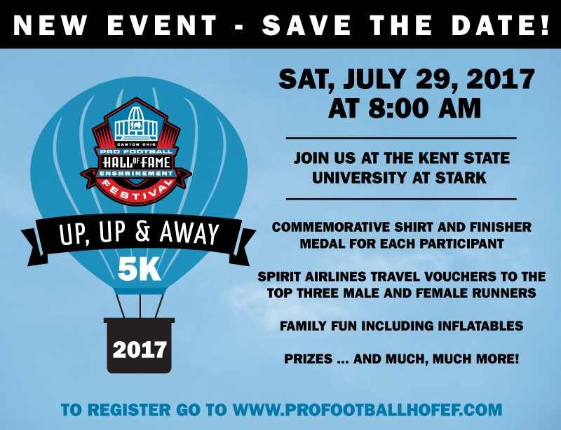 Up, Up & Away 5K – New Event!