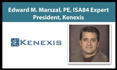 Edward M. Marszal, PE, ISA84 Expert